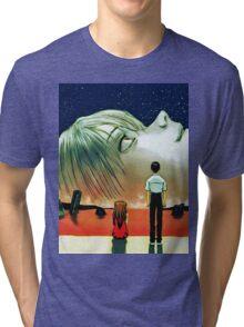 Neon Genesis Evangelion: The End of Evangelion Movie Poster  Tri-blend T-Shirt