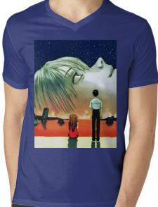 Neon Genesis Evangelion: The End of Evangelion Movie Poster  Mens V-Neck T-Shirt
