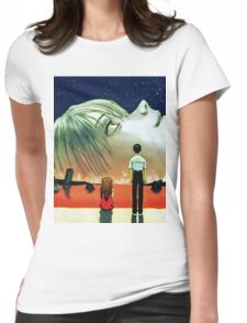Neon Genesis Evangelion: The End of Evangelion Movie Poster  Womens Fitted T-Shirt