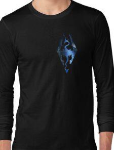 Skyrim Logo - Magic Long Sleeve T-Shirt
