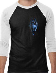 Skyrim Logo - Magic Men's Baseball ¾ T-Shirt