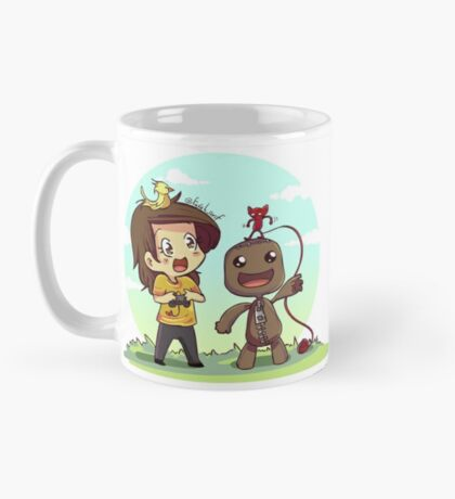 Sackboy and yarny Mug