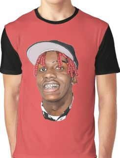 LIL YACHTY FACE Graphic T-Shirt