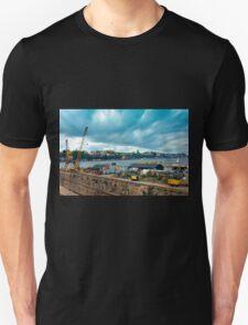 Stockholm Industrial Harbour, SWEDEN Unisex T-Shirt
