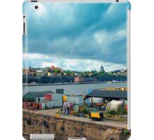 Stockholm Industrial Harbour, SWEDEN iPad Case/Skin