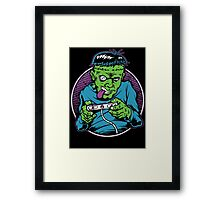Franken Gamer Framed Print