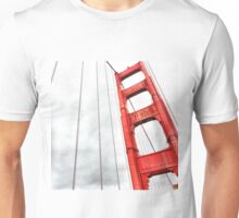 Golden Gate Bridge Stormy Weather  Unisex T-Shirt
