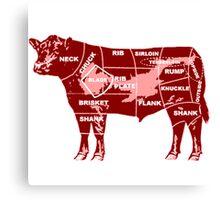 cow-graph Canvas Print