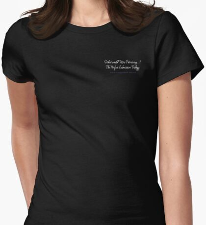 The Perfect Submissive [ALT] Womens Fitted T-Shirt