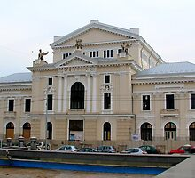 The Cultural Palace in Drobeta Turnu Severin, Romania by Dennis Melling