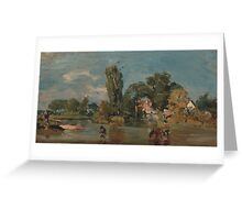 John Constable, , British Title Flatford Mill Greeting Card