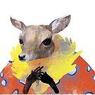 Lady deer by Animalsindresse