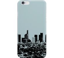 Los Angeles Skyline Stamp  iPhone Case/Skin