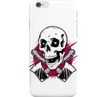The Woodsman (white) iPhone Case/Skin