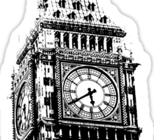 Big Ben - Palace of Westminster, London Sticker