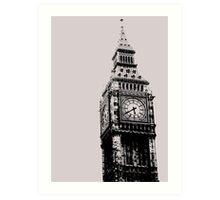 Big Ben - Palace of Westminster, London Art Print