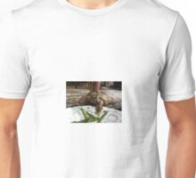 A Turtle and His Table Manners Unisex T-Shirt