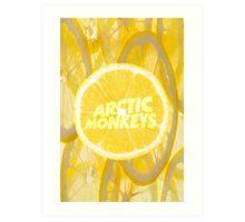 ARCTIC MONKEYS - LEMON Art Print