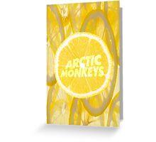 ARCTIC MONKEYS - LEMON Greeting Card