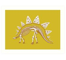 Pizzasaurus Awesome Art Print