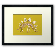 Pizzasaurus Awesome Framed Print