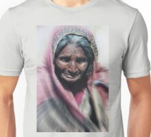 Aged beauty zoom burst Unisex T-Shirt