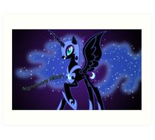 Nightmare Moon Art Print