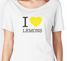 I ♥ LEMONS Women's Relaxed Fit T-Shirt
