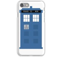 TARDIS - Doctor Who - Police Box iPhone Case/Skin
