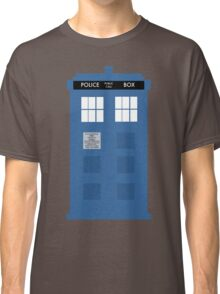 TARDIS - Doctor Who - Police Box Classic T-Shirt