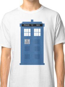 TARDIS - Doctor Who - Police Box Classic T-Shirt