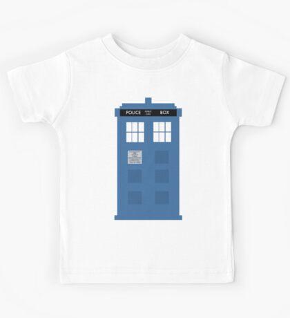 TARDIS - Doctor Who - Police Box Kids Tee