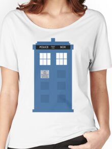 TARDIS - Doctor Who - Police Box Women's Relaxed Fit T-Shirt