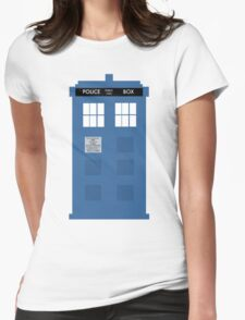 TARDIS - Doctor Who - Police Box Womens Fitted T-Shirt