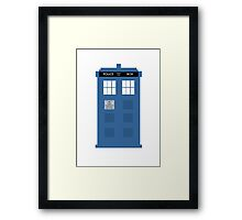 TARDIS - Doctor Who - Police Box Framed Print