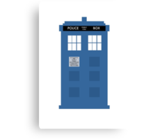TARDIS - Doctor Who - Police Box Canvas Print