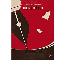No440 My The Notebook minimal movie poster Photographic Print