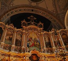 Religious art, The Orthodox Cathedral of St George, Novi Sad, Serbia by Margaret  Hyde