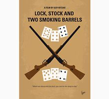 No441 My Lock, Stock and Two Smoking Barrels minimal movie poster Unisex T-Shirt
