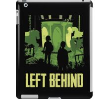 Left Behind Green iPad Case/Skin