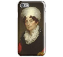 Mrs. Andrew Sigourney , Gilbert Stuart (American, North Kingston, Rhode Island  Boston, Massachusetts) iPhone Case/Skin
