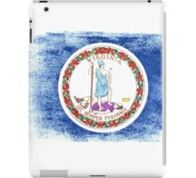 Virginia State Flag Distressed Vintage Shirt iPad Case/Skin