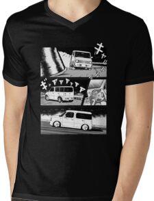 Nissan Cube Gen 2 (Dark) Mens V-Neck T-Shirt