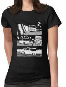 Nissan Cube Gen 2 (Dark) Womens Fitted T-Shirt