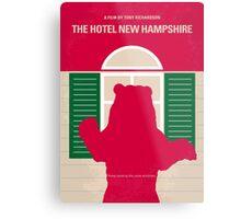 No443 My The Hotel New Hampshire minimal movie poster Metal Print