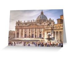 Vatican and St. Peter Square Greeting Card