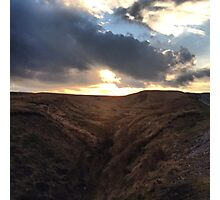 Up on the Moors Photographic Print