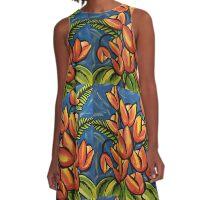 Tulips! A-Line Dress