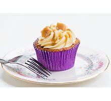 Banoffee Cupcake Photographic Print