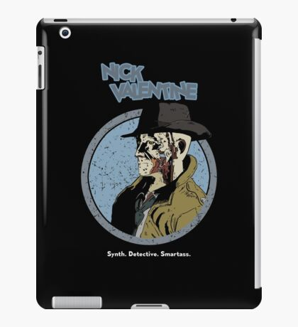 Synth. Detective. Smartass. iPad Case/Skin
